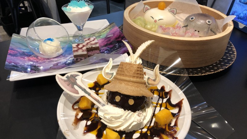 A Look Inside The Square Enix Cafe In Akihabara