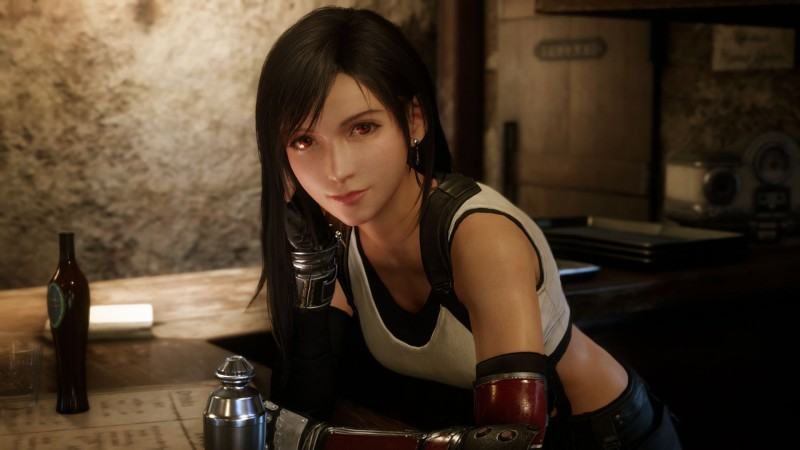 See New Screens (And Cool Throwback Box Art) For Final Fantasy VII Remake