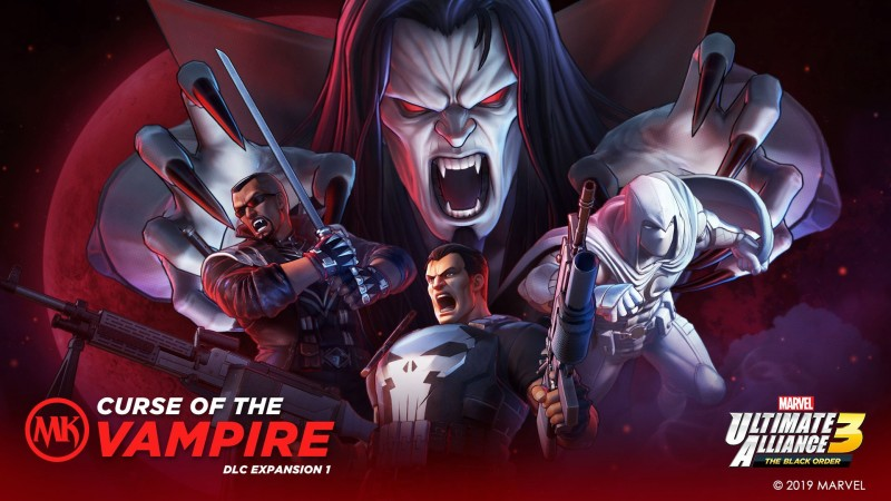 Punisher, Blade, Morbius, And Moon Knight Come To Marvel Ultimate Alliance 3 Today