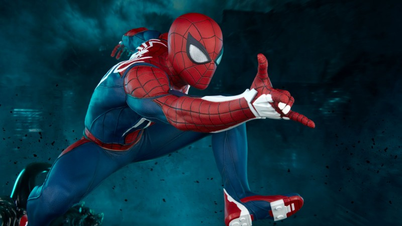 Insomniac's Spider-Man Is Now A $1,100 Statue