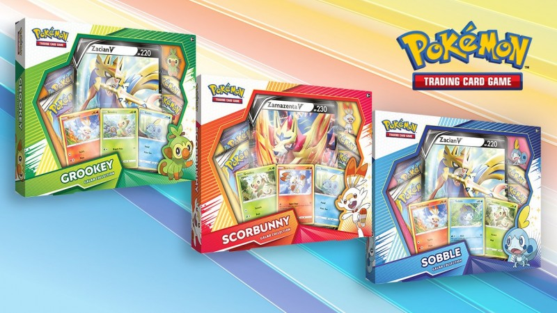 Check Out The First Few Pokémon Sword & Shield Cards From The Galar Collection Boxes