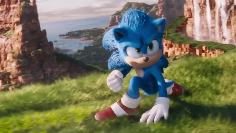 Sega And Paramount Announce Official Sonic Movie Merchandise Game Informer