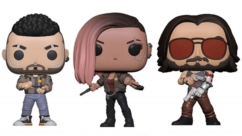 Cyberpunk 2077 Funko Pops Are On The Way