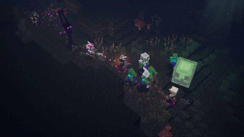 Minecraft Dungeons Review – Familiarity Needs Content