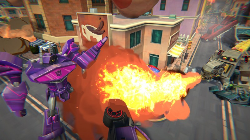 The Transformers Return In A New Game For Playstation 4 Xbox One Switch And Pc Game Informer