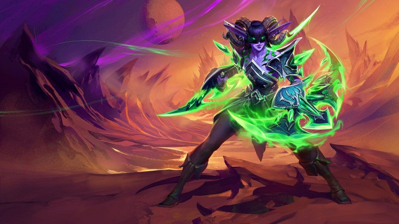 Image of article 'Crafting A Character : Hearthstone's New Demon Hunter Aranna Starseeker'