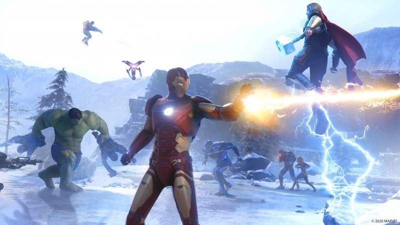 marvels avengers co op 2 - Marvel's Avengers Review – A Powerful Superhero Experience
