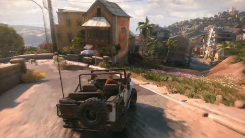 Video Added New Uncharted 4 Video Shows Off Vehicle Chase Game