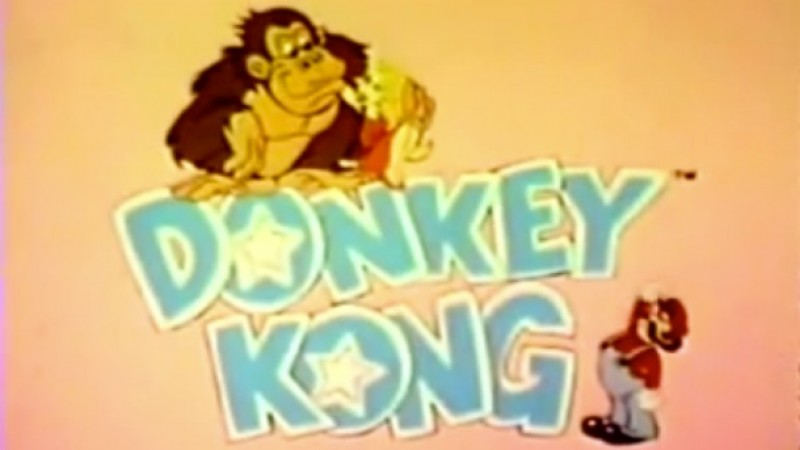 A Look Back At The 80s Donkey Kong Cartoon Game Informer
