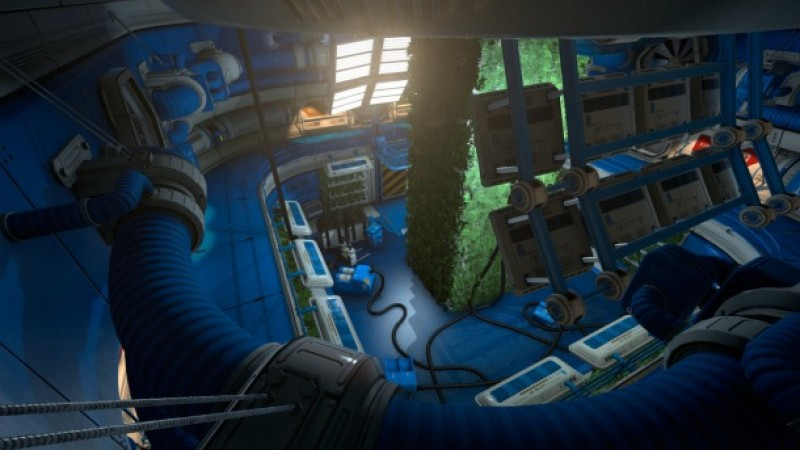 Explore An Abandoned Space Station And Beyond In P O L L E N 's New