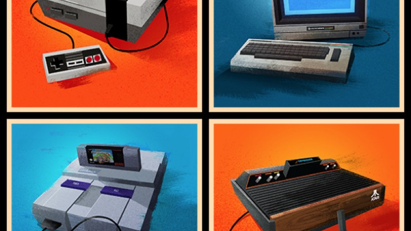 Art Based On Classic Game Systems For Sale January 30