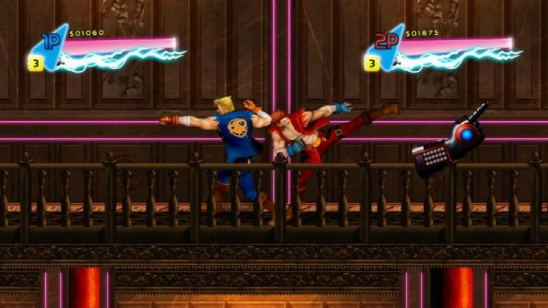 Double Dragon Neon Billy And Jimmy Return In The Debut Trailer