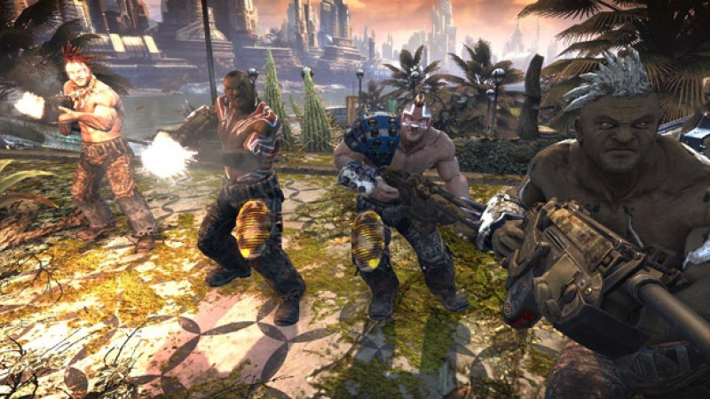 Bulletstorm Features Randomly Generated Bad Guys - Game
