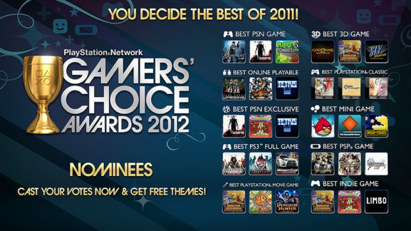 Cast Your Vote For The Best PSN Games Of 2011 - Game