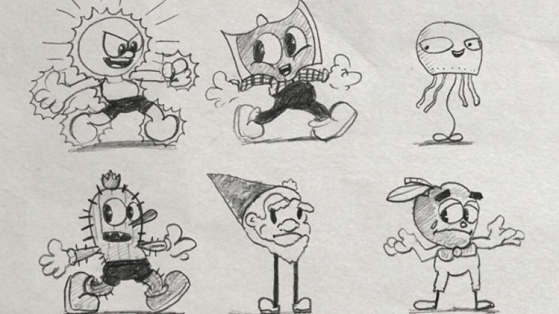 Cuphead S Creator Opens Up His Sketchbook Game Informer
