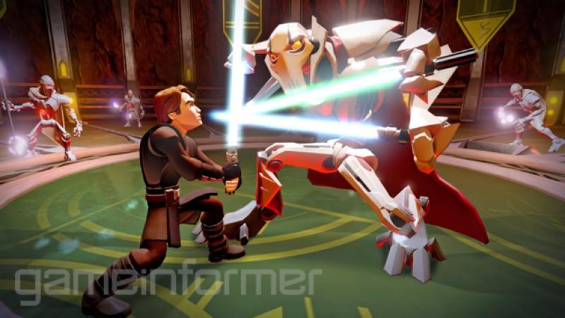 Exclusive Gameplay Of Star Wars Combat In Disney Infinity 3.0