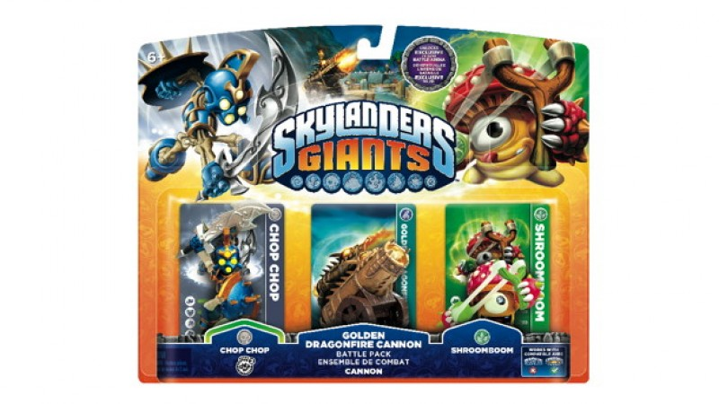 exclusive skylanders giants battle pack