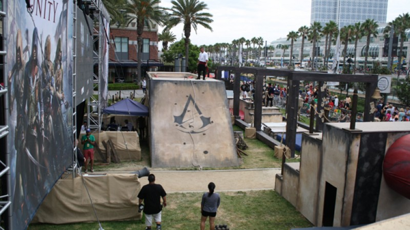 Experience Assassin's Creed In First Person From Comic Con