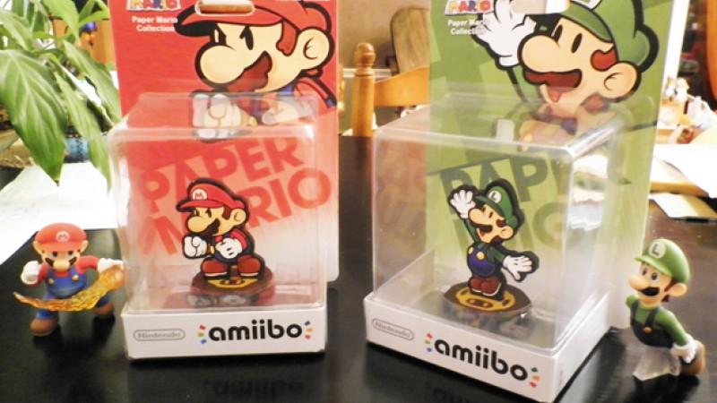 Fan Creates Functional Custom Paper Mario Amiibos