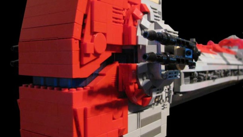 Fan Creates LEGO Star Wars: Knights Of The Old Republic Ships