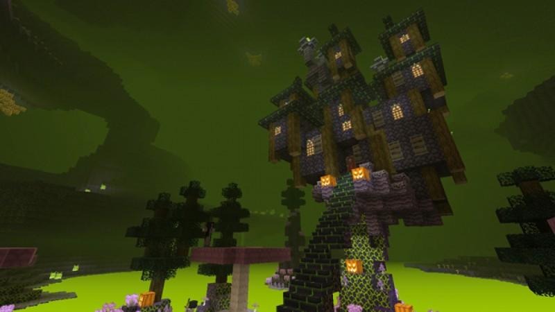 Free Minecraft Halloween Texture Pack Available For A Limited Time On Xbox Live Game Informer