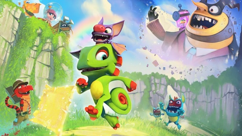 Games Like Yooka-Laylee And Battle Chasers Are Having