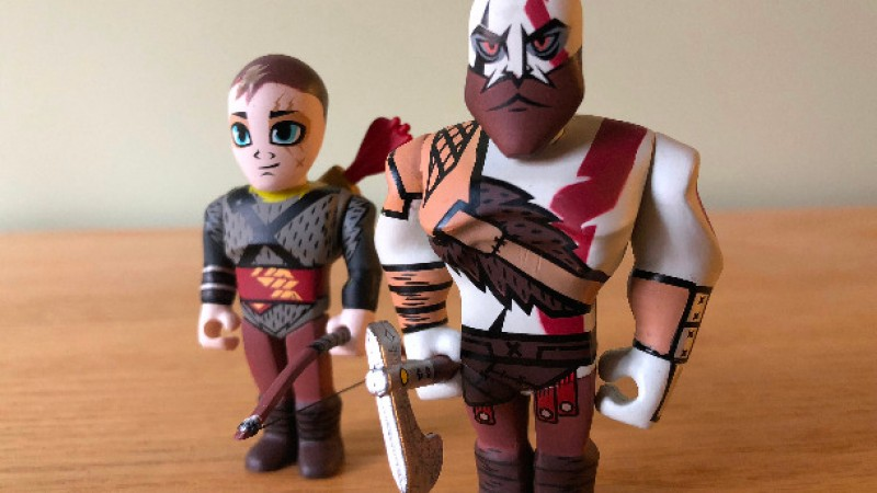 Get A Close Look At Kidrobot S New God Of War Vinyl Mini Figures Game Informer