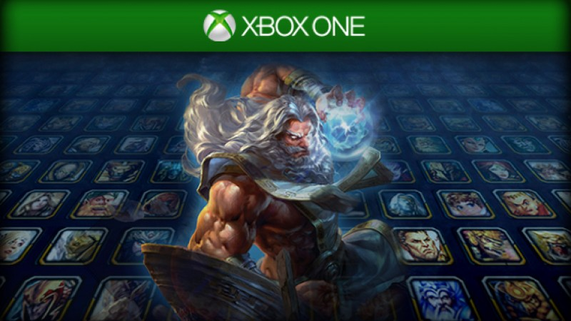 Get Free Skins In Advance Of Smite Xbox One Open Beta On July 8
