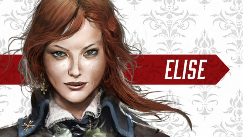 Get To Know Elise From Assassin S Creed Unity Game Informer
