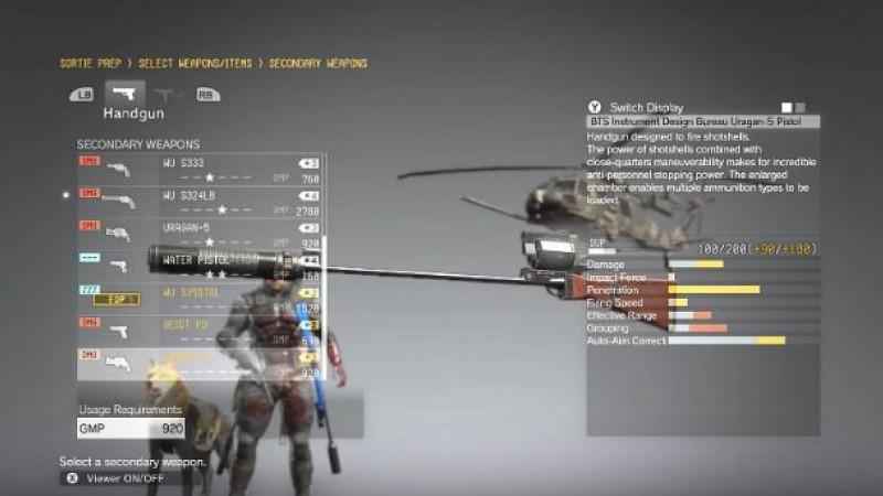 Metal gear last mission for quiet 3d hd pov 8