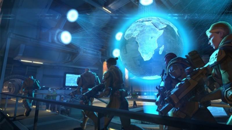 Interactive Ant Farm: Exploring XCOM's HQ - Game Informer