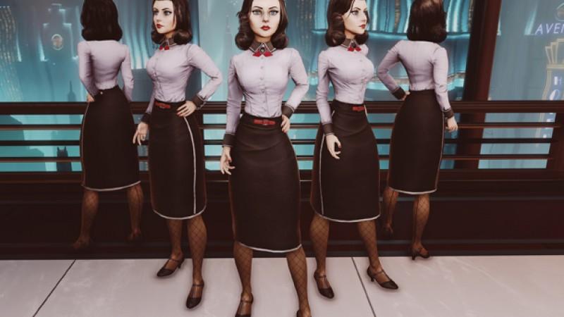 Irrational Games Shares Elizabeth's New Look For Bioshock Infinite's DLC