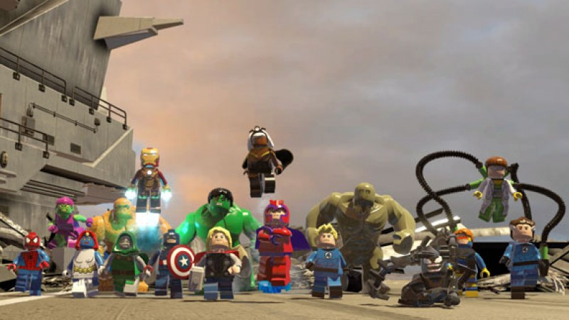 Lego Marvel Super Heroes Review – Heroes Assemble
