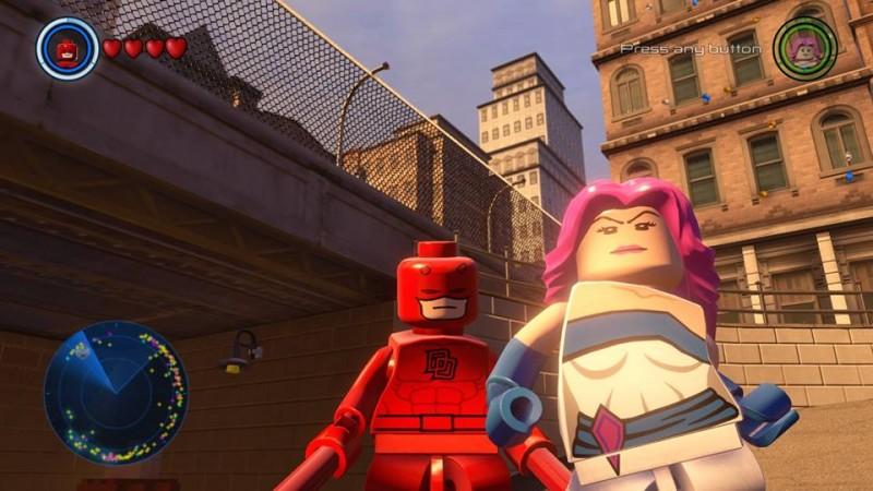 Lego Marvel Avengers: How To Unlock Jessica Jones & Daredevil