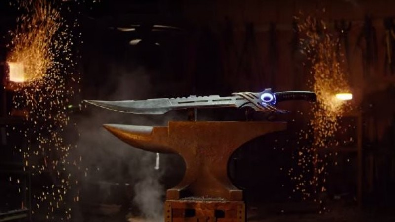 Man At Arms Forges Replica Of Fury's Song Sword From Black