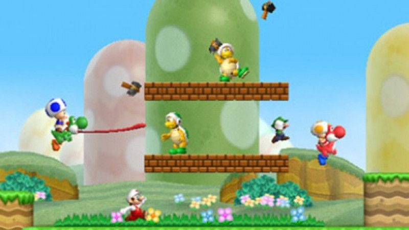 New Super Mario Bros Wii Review Manic Multiplayer Introduces A