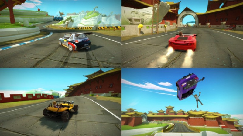 Joy Ride Turbo Review \u2013 Marginally Better Without Kinect - Game