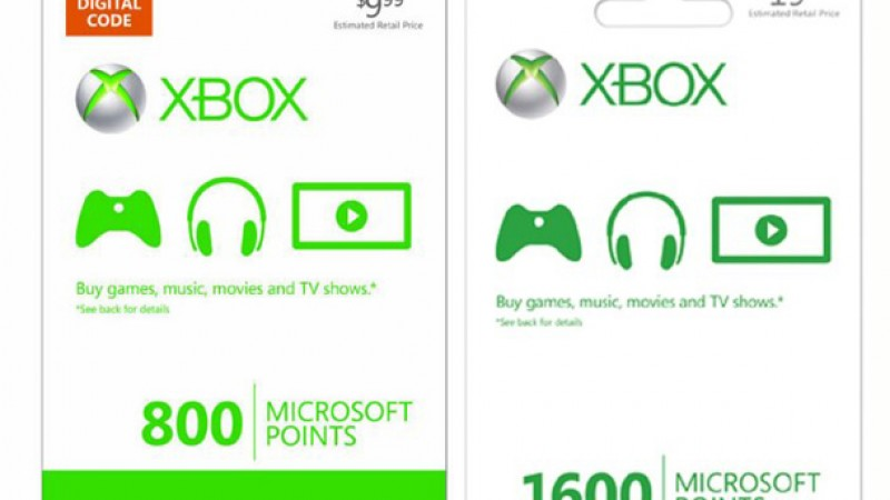 Microsoft Points Will Disappear With The Next Xbox 360 System Update