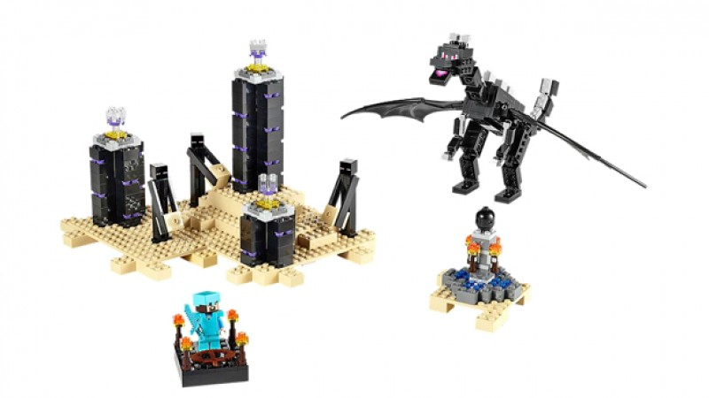 Minecraft Lego Sets Featuring Creepers, Endermen, And A Diamond-Armored Steve Now Available