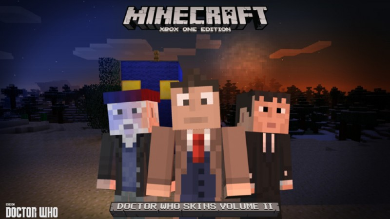 Minecraft Re-Enters The Time War With Doctor Who Skins ...