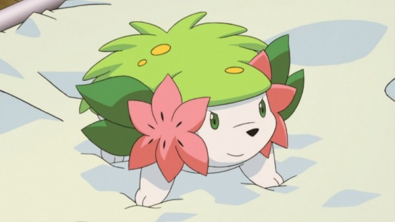 Mythical Hedgehog Pokémon Shaymin Available Via Nintendo ...
