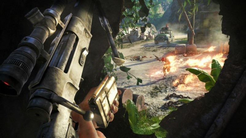 New Far Cry 3 Screens Emerge From The Jungle Game Informer