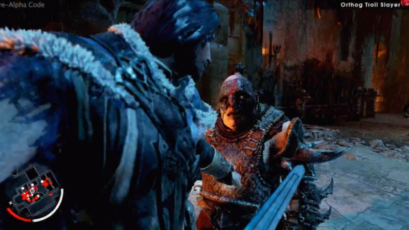 New Middle-earth Shadow of Mordor Footage Shows Off Wraith Abilities - Game Informer