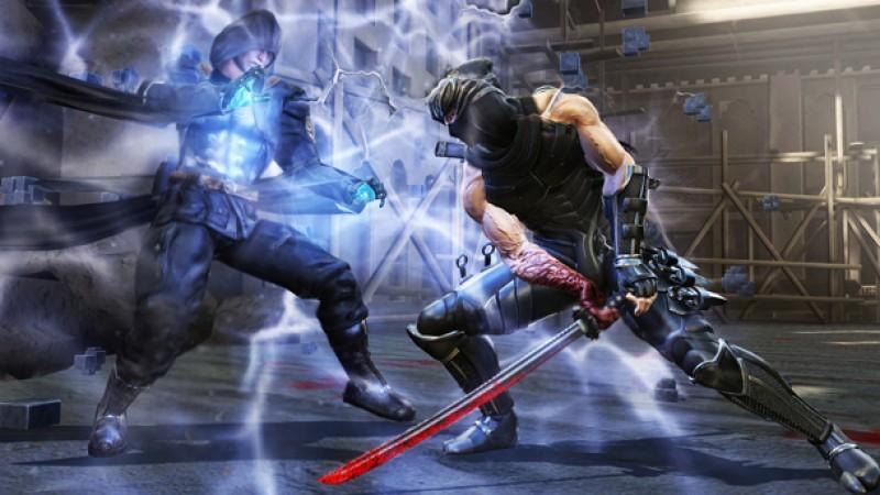 New Ninja Gaiden 3 Screens Full Of Blood And Ninjas Game