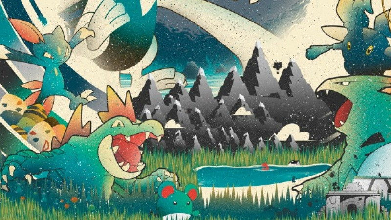 Pokémon Gold And Silver Posters That Make Great Wall Art
