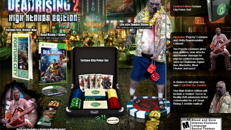 Preorder Dead Rising 2 And You Could Win A 6 Foot Zombie