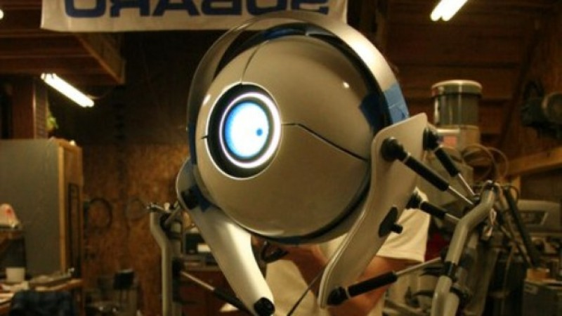 Real-Life Atlas Bot From Portal 2 - Game Informer