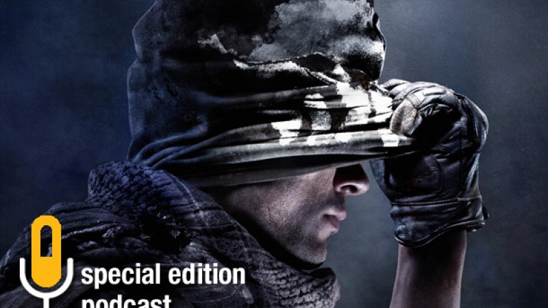 Special Edition Podcast – Call Of Duty: Ghosts