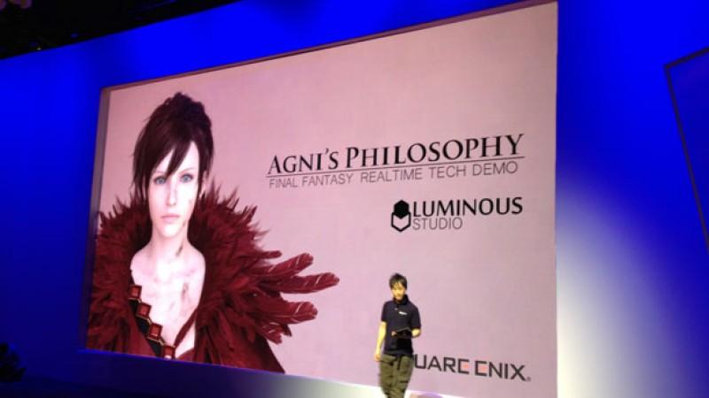 Square Enix Shows Off Next Gen Final Fantasy Tech Demo