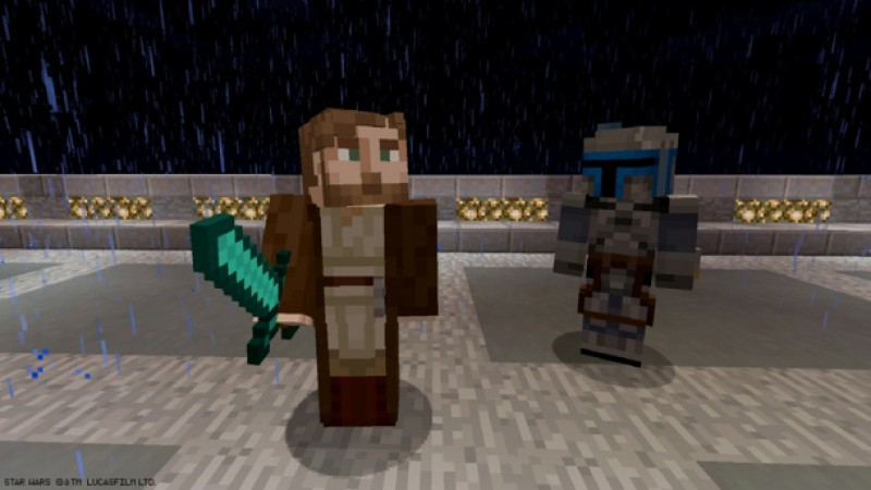 Star Wars: The Clone Wars And More Come To Minecraft - Game